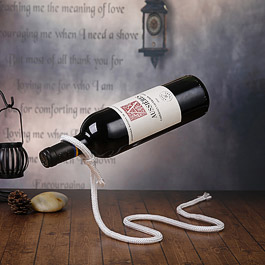 Magical Dangling Red Wine Rack
